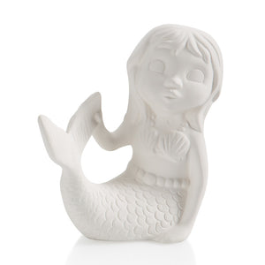 Pottery Party Animals- Mermaid