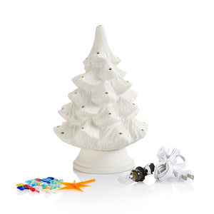 "TAG- 9.5"" Small Tree with Light Kit"