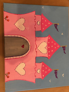Kids Canvas- Castle