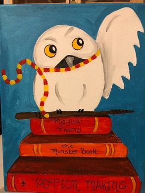 Kids Canvas- Harry Potter Owl