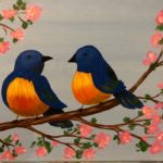Kids Canvas- Bluebirds