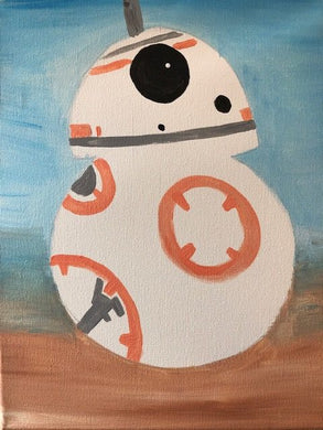 Kids Canvas- BB8