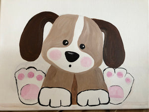 Kids Canvas- Puppy