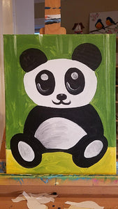 Kids Canvas- Panda Bear
