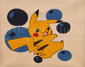 Kids Canvas- Piccachu