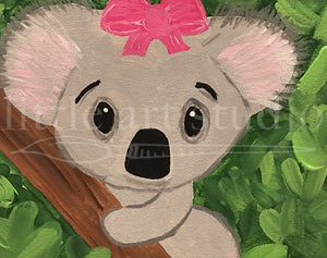 Kids Canvas- Koala