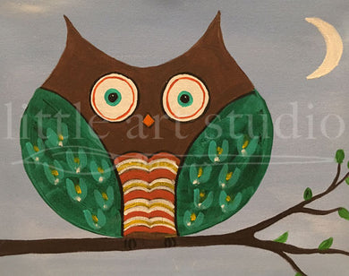 Kids Canvas- Owl