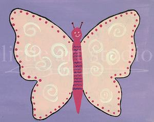 Kids Canvas- Butterfly