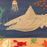 Kids Canvas- Shark