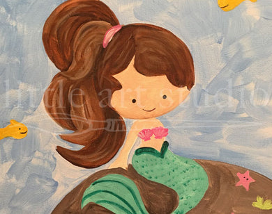 Kids Canvas- Mermaid
