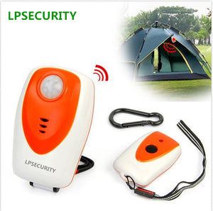 LPSECURITY Outdoor Camping Security PIR Infrared Perimeter Protector Alarm Motion Detector(NO BATTERY)