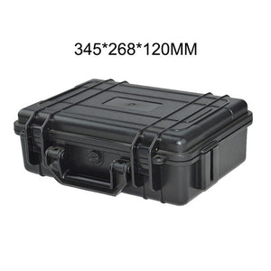 Waterproof Safety Case ABS Plastic Tool Box Outdoor Vehicle Kit Box Sealed Safety Equipment Case Outdoor Safety Equipment
