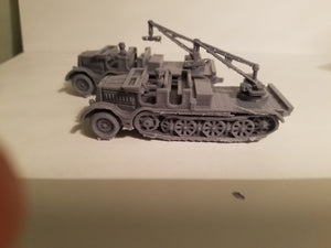 1/72 1/87 1/144 1/100 1/56 1/48 1/200 1/35 SD.KFZ 9 light crane Famo 18ton