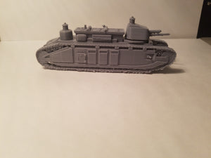1/72 1/87 1/144 1/56 1/48 1/200  Char 2c  Scale French Tank