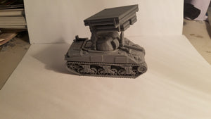 1/72 1/87 1/144 1/100 1/56 1/48 1/200  Sherman Calliapie Scale WWII Model Tank