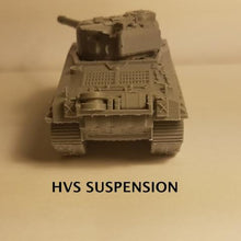 Load image into Gallery viewer, 1/72 1/87 1/144 1/100 1/56 1/48 1/200 1/35 Sherman 76mm late war HvSS x2 Scale WWII Model Tank