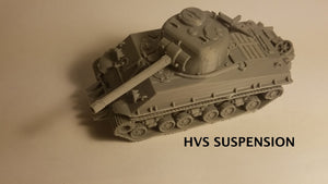 1/72 1/87 1/144 1/100 1/56 1/48 1/200 1/35 Sherman 76mm late war HvSS x2 Scale WWII Model Tank