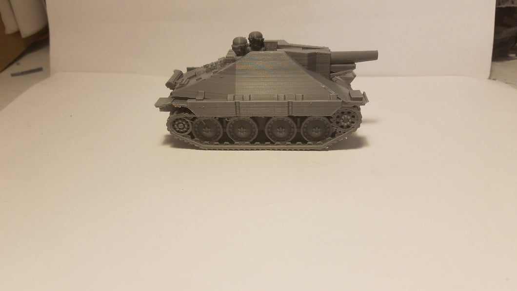 1/72 1/87 1/144 1/100 1/56 1/48 1/200 1/35 38t SIG 15cm x2 Scale WWII Model Tank