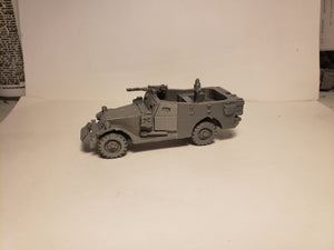 1/72 1/87 1/144 1/100 1/56 1/48 1/200 1/35  M3 scout car  x2 Scale WWII Model Tank