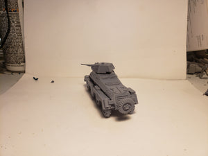 1/72 1/87 1/144 1/100 1/56 1/48 1/200 1/35 sd.kfz 231 8-rad x2 Scale WWII Model Tank