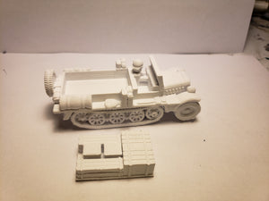 1/72 1/87 1/144 1/100 1/56 1/48 1/200 1/35 SD.KFZ 10 supply x2 Scale WWII Model