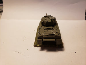 1/72 Sherman round hull w/ brush cutter
