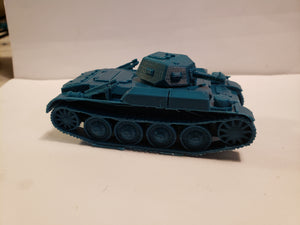 "1/200 to 1/35 scale Panzer II ""Flamingo"" x2 Scale WWII Model Tank"