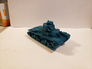 1/200 to 1/35 scale 1/200 to 1/35 scale 35t 47mm  x2 Scale WWII Model Tank