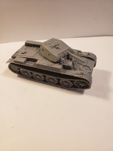 1/200 to 1/35 scale Panzer II ausf D Scale WWII Model Tank