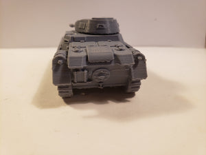 1/200 to 1/35 scale Panzer I Late  x2 Scale WWII Model Tank