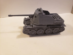 1/200 to 1/35 scale 1/200 to 1/35 scale Marder III H x2 Scale WWII Model Tank