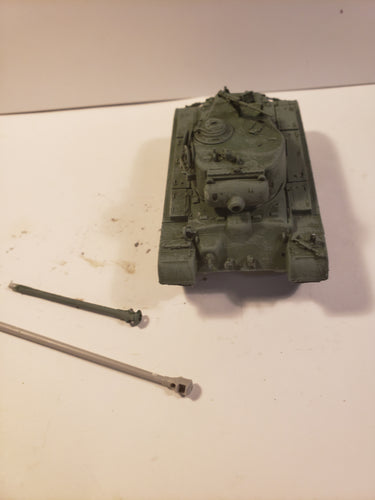 1/72 pershing 90mm and 75mm barrels
