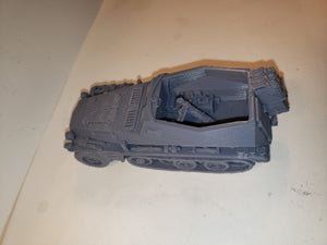 1/72 1/87 1/144 1/100 1/56 1/48 1/200 early sd.kfz 250 mortar x2 Scale WWII Model Tank