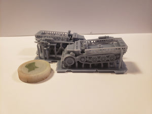 1/300 to 1/72 scale Famo 9 88mm Scale WWII Model Tank