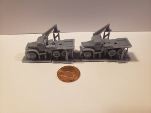 1/300 to 1/72 scale GMC Crane Truck Recovery Scale WWII Model Tank