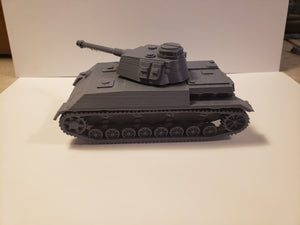 1/200 to 1/35 scale  Panzer 4 K slopped x2 Scale WWII Model Tank