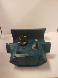 3 way 2x2 Sci-fi Corridor / Dungeon Tile Hero Clix Starwars ARMD Minatures DND D&D no:232.5d