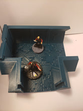 Load image into Gallery viewer, 3 way 2x2 Sci-fi Corridor / Dungeon Tile Hero Clix Starwars ARMD Minatures DND D&D no:232.5d