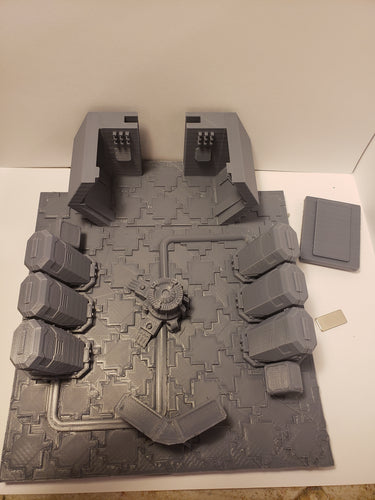 3x3 Cryo room Sci-fi Corridor / Dungeon Tile Hero Clix Starwars ARMD Minatures DND D&D no:3cryo1dd