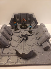 Load image into Gallery viewer, 3x3 Cryo room Sci-fi Corridor / Dungeon Tile Hero Clix Starwars ARMD Minatures DND D&D no:3cryo1dd
