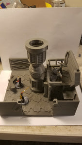 3x3 engineering room Sci-fi Corridor / Dungeon Tile Hero Clix Starwars ARMD Minatures DND D&D no:3cryo1dd
