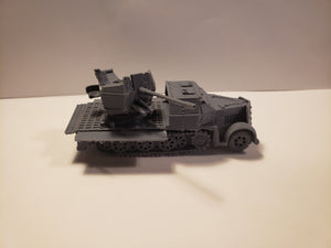 1/72 1/87 1/144 1/100 1/56 1/48 1/200 1/35 SD.KFZ 7-2  x2 Scale WWII Model Tank
