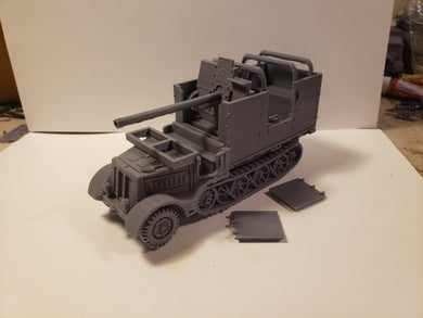 1/72 1/87 1/144 1/100 1/56 1/48 1/200 1/35 SD.KFZ  6 -3 Diana x2 Scale WWII Model