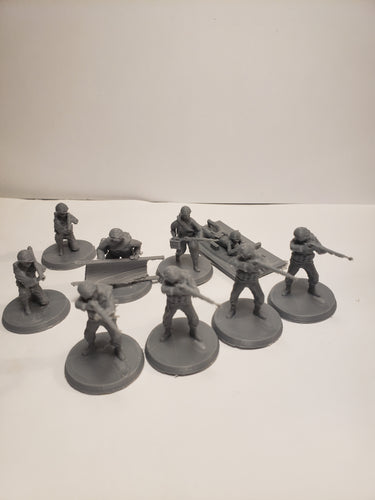 1/87 to 1/48 scale U.S. Army Core Infantry Starter pack