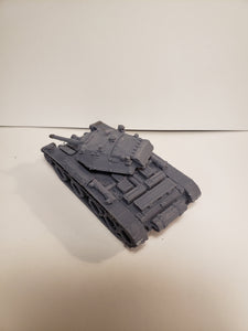 1/200 to 1/35 scale A13 Mk III Covenanter x2 Scale WWII Model Tank