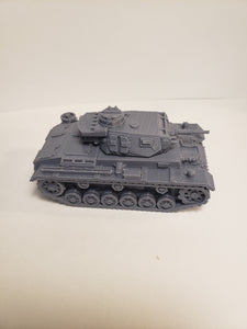1/200 to 1/35 scale panzer III  37mm ausf. E x2 Scale WWII Model Tank