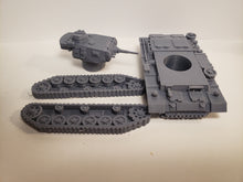 Load image into Gallery viewer, 1/200 to 1/35 scale panzer III  37mm ausf. E x2 Scale WWII Model Tank
