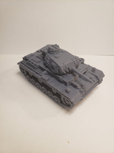 1/200 to 1/35 scale 50mm panzer III short ausf f/g x2 Scale WWII Model Tank