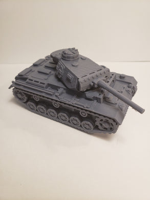 1/200 to 1/35 scale panzer III short L x2 Scale WWII Model Tank