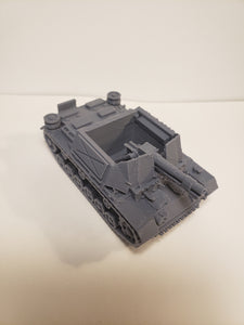 1/200 to 1/35 scale panzer III sig 33 Fahrgestell ausf H  x2 Scale WWII Model Tank